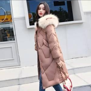 2020新款棉衣女潮中长款冬装女士面包服冬季羽绒棉服外套棉袄