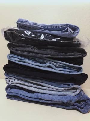 一口气买了十条牛仔裤👖……