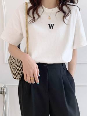 【彩妆师华子】纯棉短袖T恤女宽松2021夏季新款洋气简约半袖网红上衣ins #duanxiu#