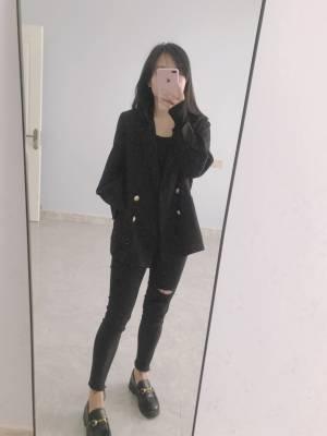 很喜欢的一款小西装 面料 质量 版型 都是我喜欢的 穿上很挺阔 而且大小也很合适 春天 必不可少的小西装 #CC小姐姐啊粉丝晒单#