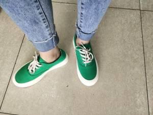 这个鞋绝绝子,哈哈哈,爱了爱了,版型超好 #小甜心_呢粉丝晒单#