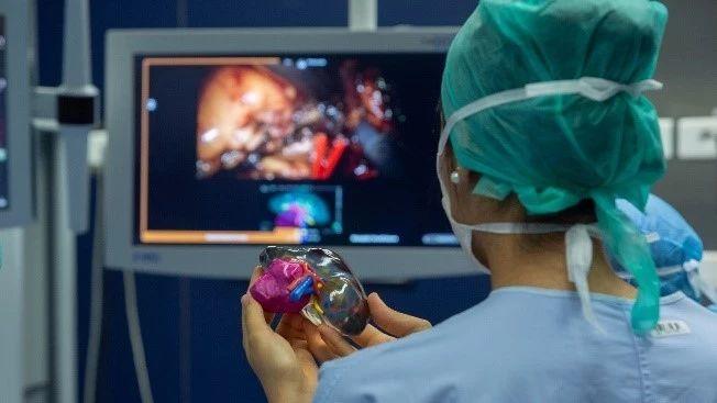 法国医院采用世界上唯一的全彩色多材料3D打印技术来改善肾癌手术
