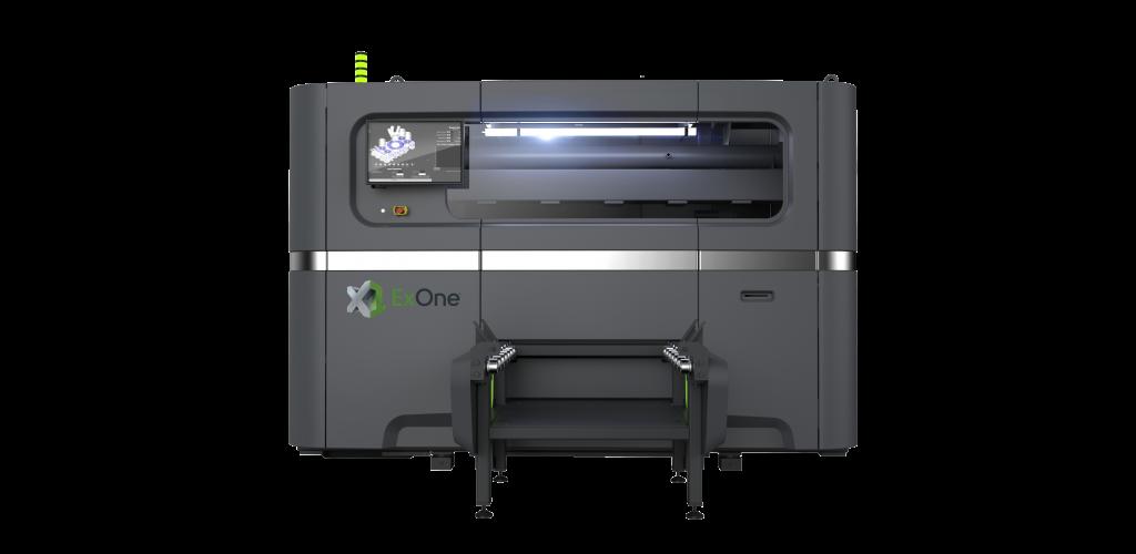 ExOne推出大容量生产级粘合剂喷射金属3D打印机X1 160PRO