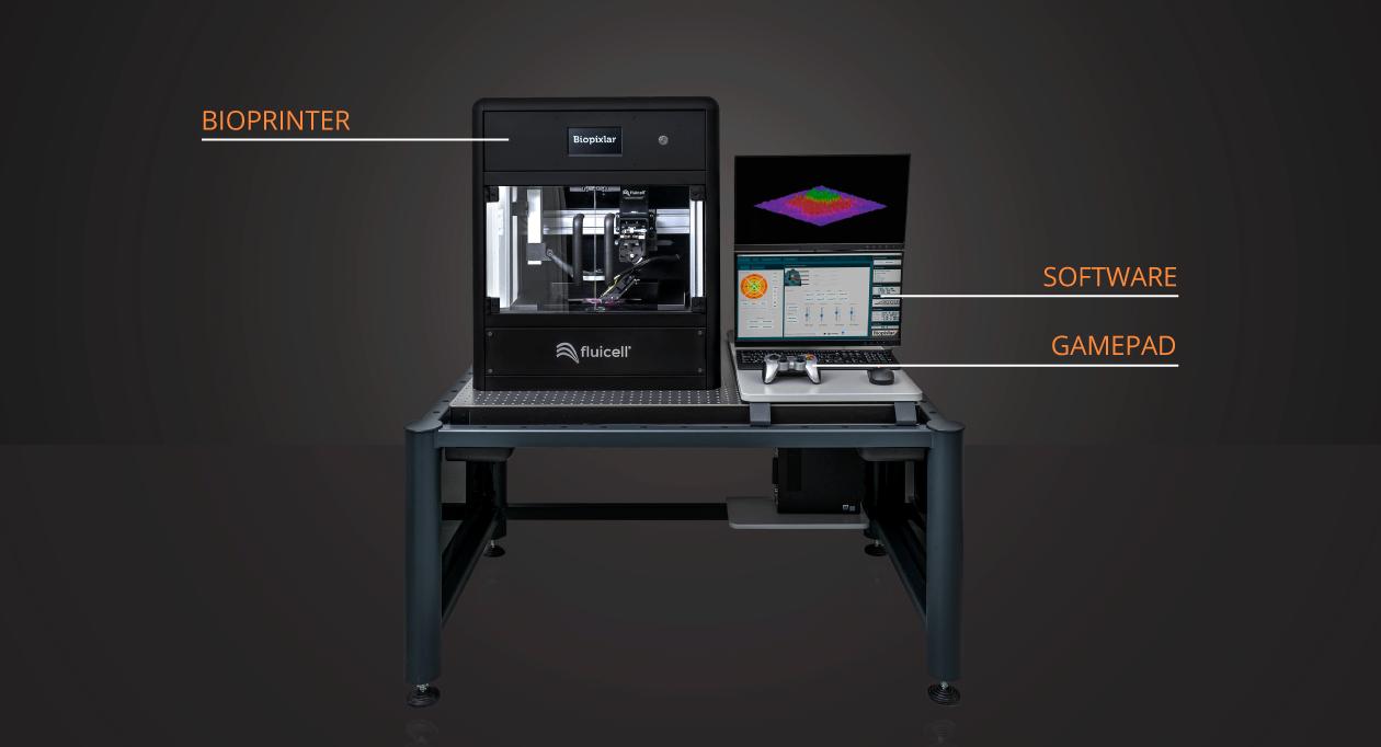 瑞典Fluicell推出高分辨率单细胞生物3D打印机