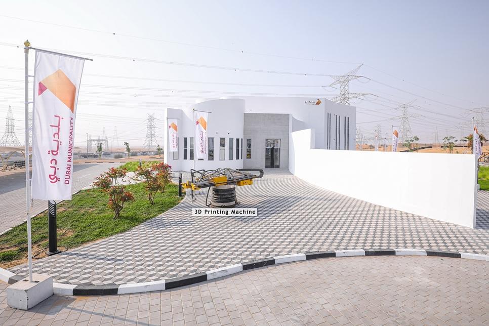 迪拜640平米3D打印二层建筑,打破吉尼斯世界纪录